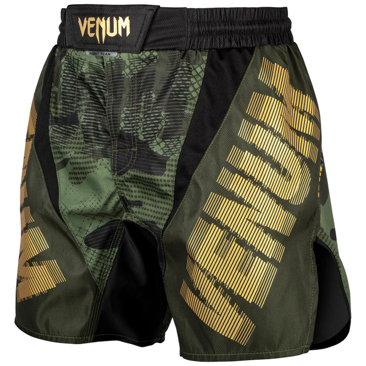 Venum Tactical Fight Shorts Khaki/Black/Gold