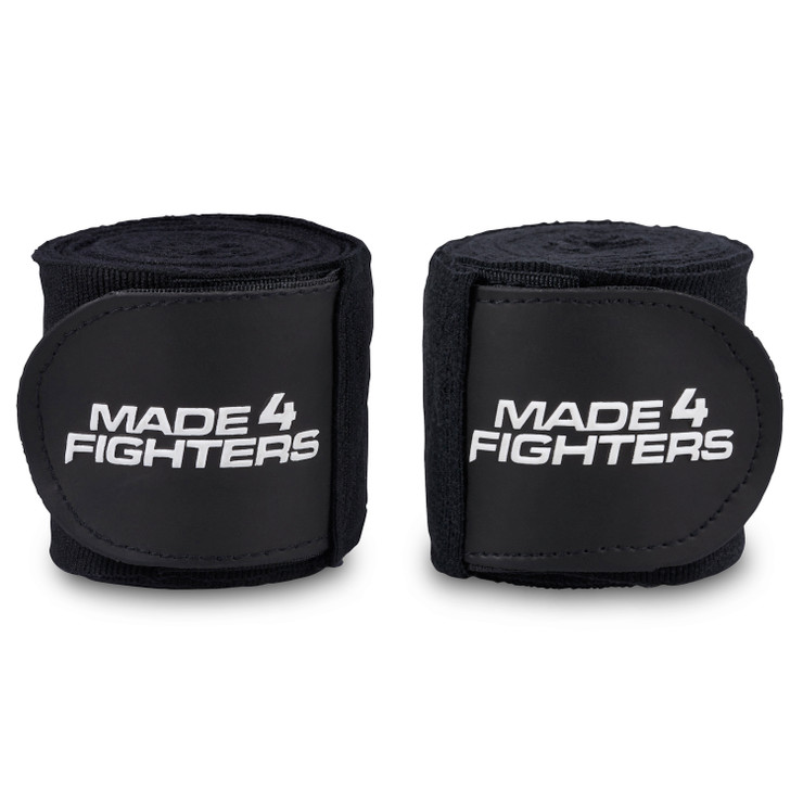 Made4Fighters S1 Hand Wraps Black