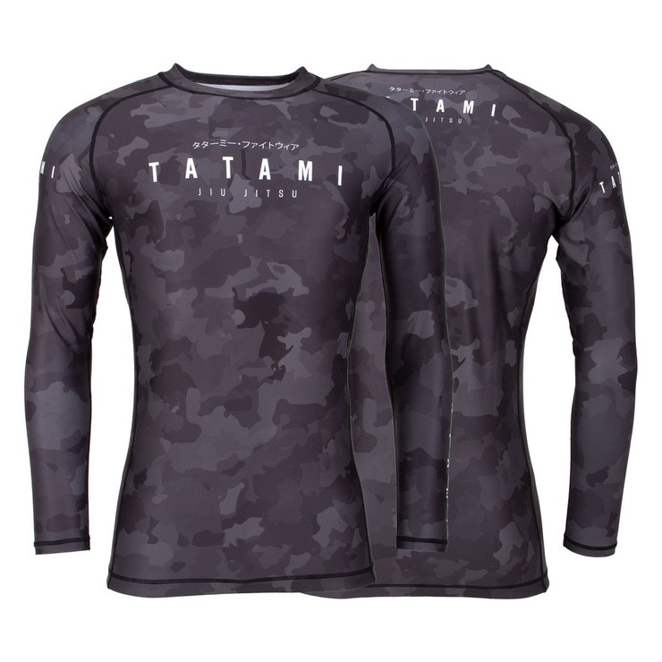 Tatami Fightwear Stealth Long Sleeve Rash Guard