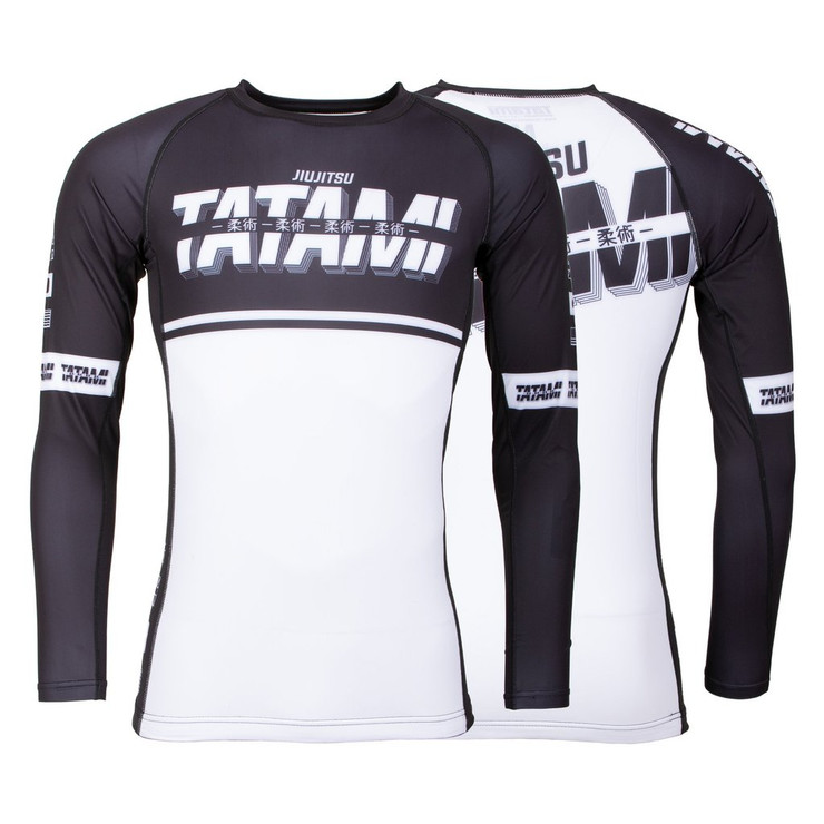 Tatami Fightwear Burnout Long Sleeve Rash Guard