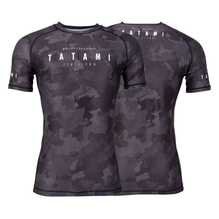 Tatami Fightwear Stealth Short Sleeve Rash Guard