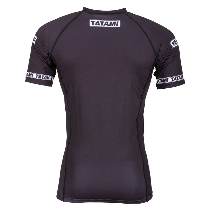 Tatami Fightwear Dweller Short Sleeve Rash Guard Black