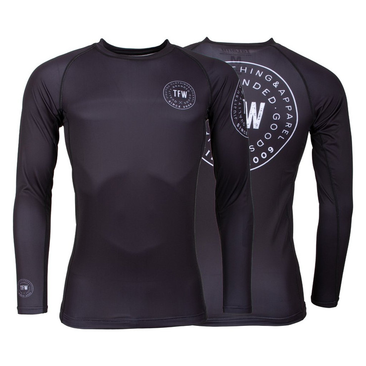 Tatami Fightwear Iconic Long Sleeve Rash Guard