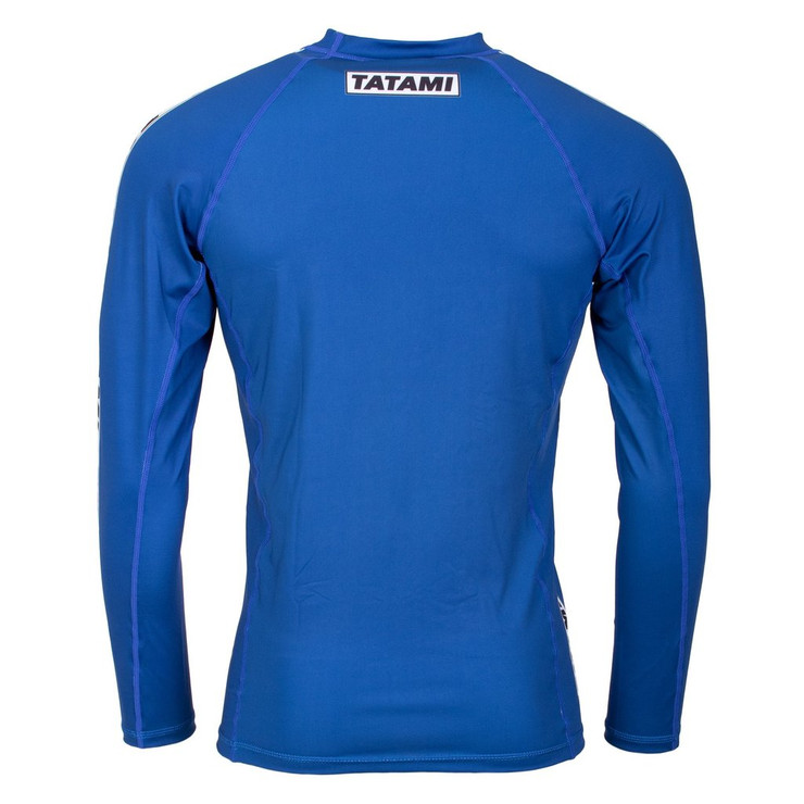 Tatami Fightwear Dweller Long Sleeve Rash Guard Navy
