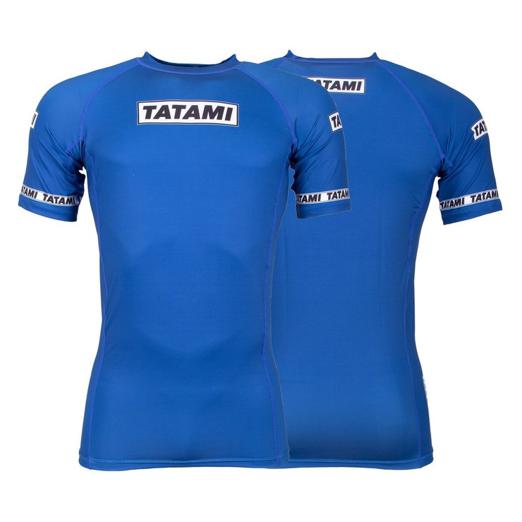 Tatami Fightwear Dweller Short Sleeve Rash Guard Navy