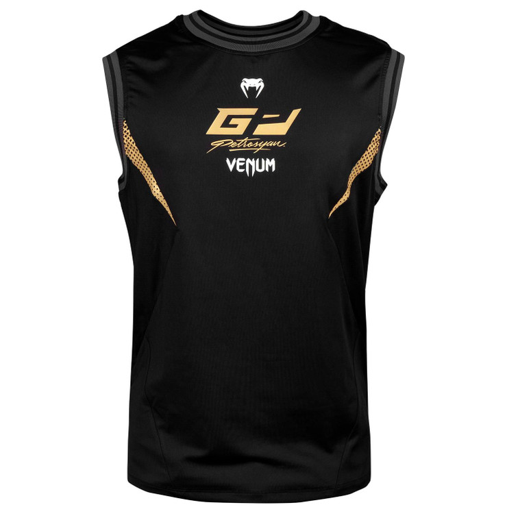 Venum Petrosyan Dry Tech Tank Top Black/Gold