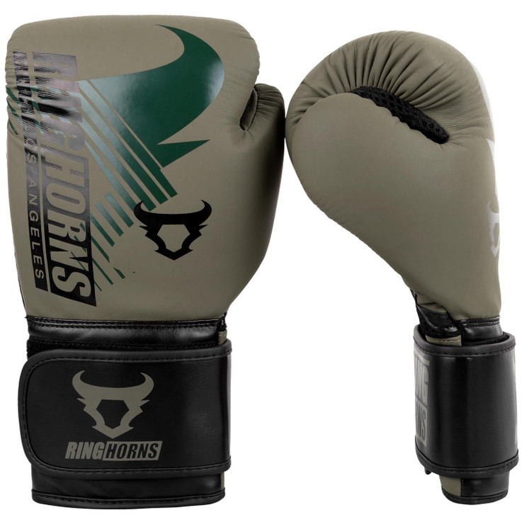 Ringhorns Charger MX Boxing Gloves Khaki/Black