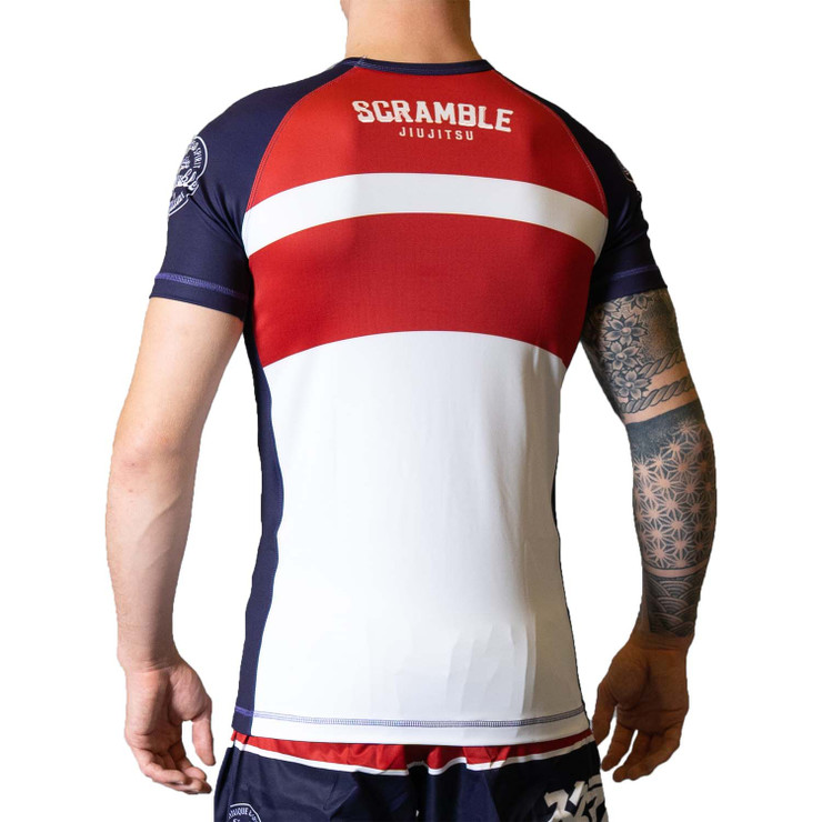 Scramble BWR Rash Guard