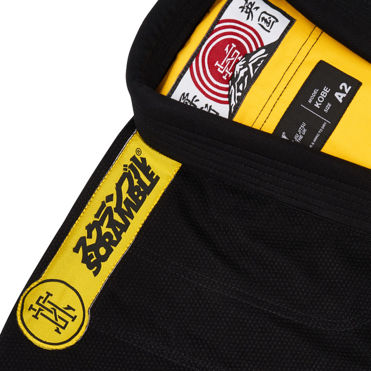Scramble Kobe BJJ Gi - Exclusive To Made4Fighters