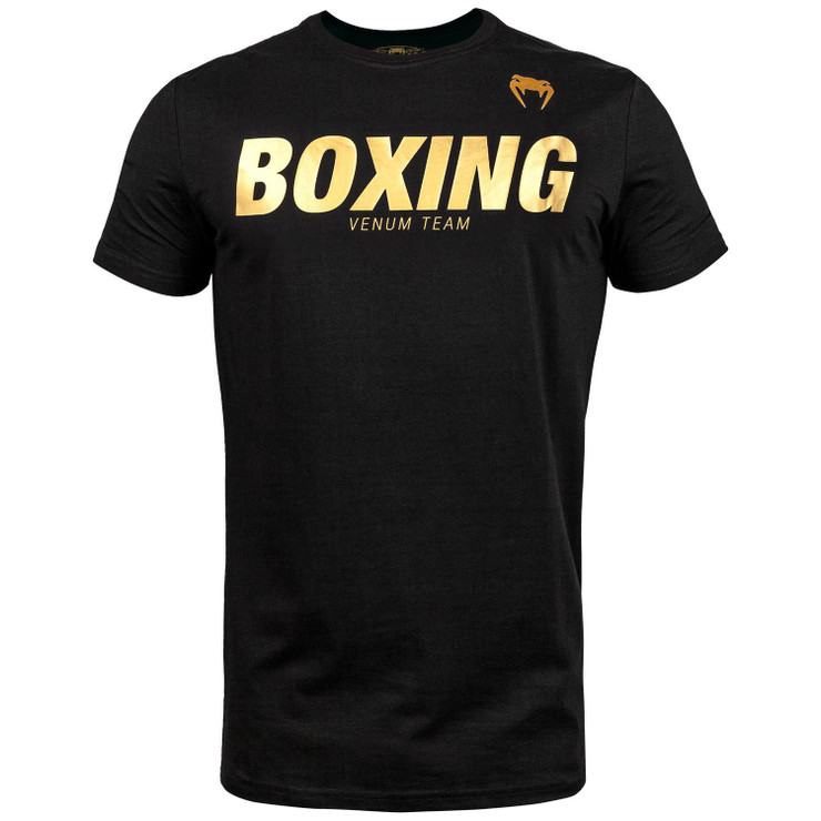 Venum Classic Boxing T-Shirt Black/Gold