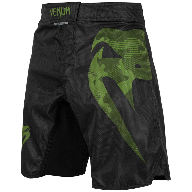 Venum Light 3.0 Fight Shorts Khaki/Black