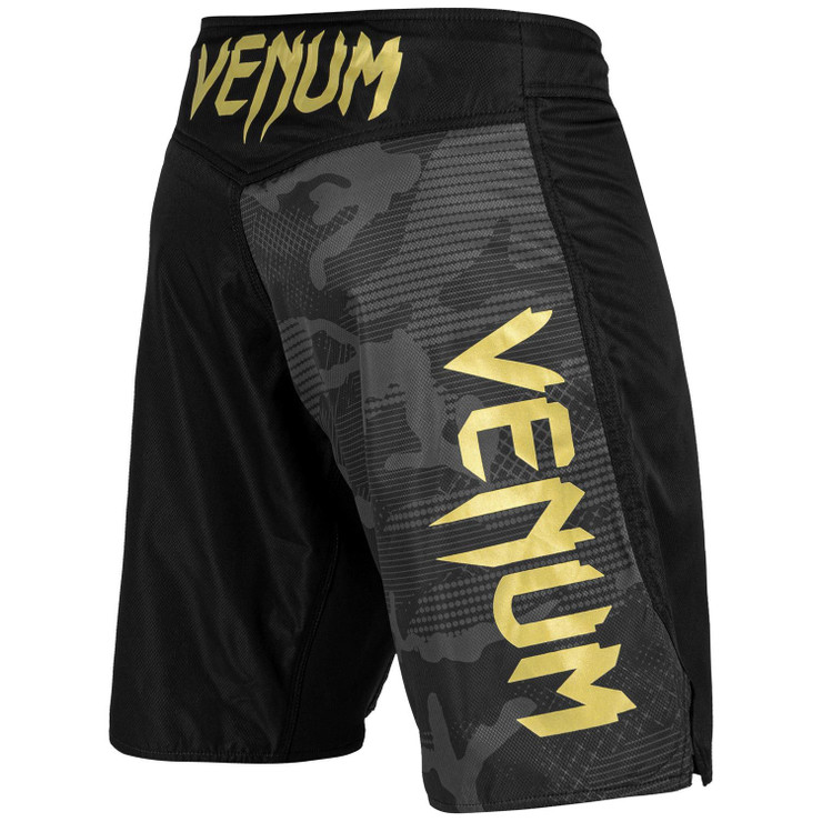 Venum Light 3.0 Fight Shorts Black/Gold