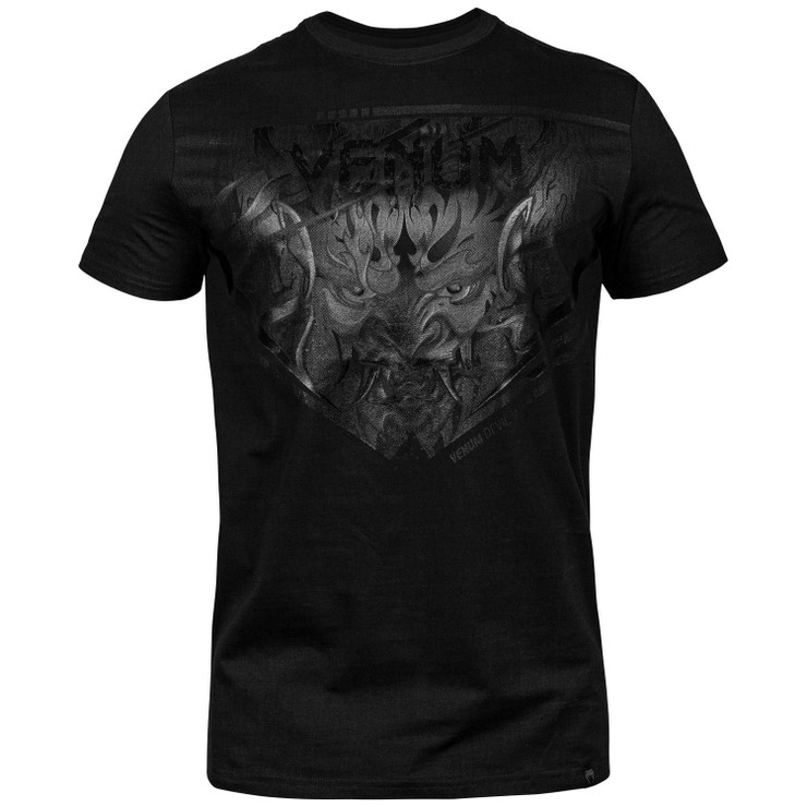 Venum Devil T-shirt  Black/Black