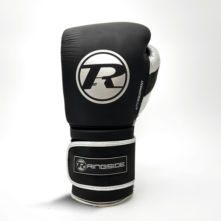 Ringside Pro Equipment Boxing Gloves Black/Silver