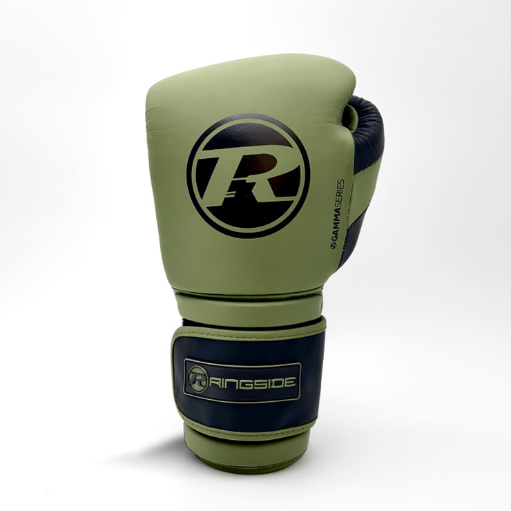 Ringside Gamma Boxing Gloves Khaki