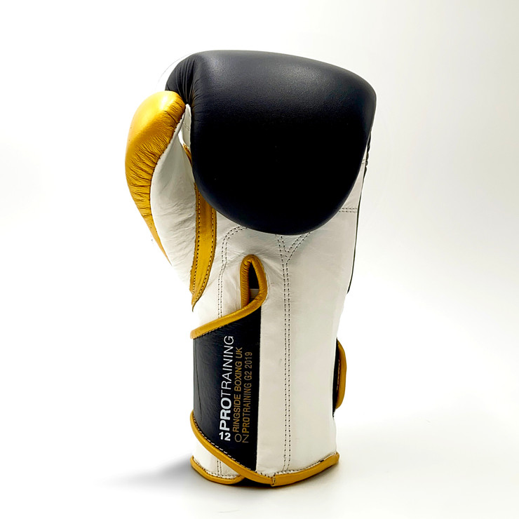 Ringside Pro Training G2 Boxing Gloves Black/Gold