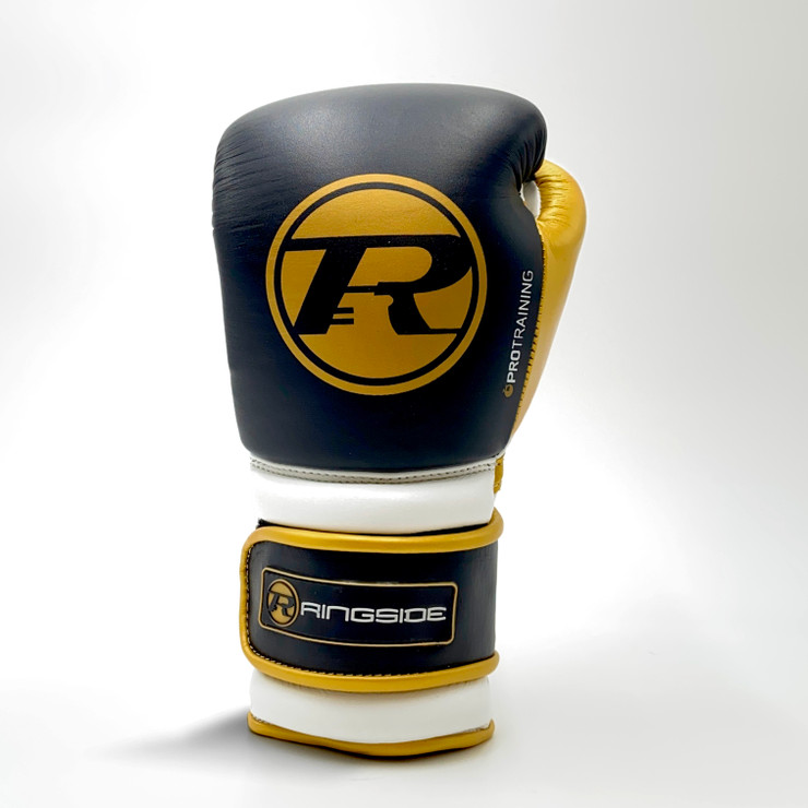 Ringside Gloves Pro Training G2 Boxing Gloves Black/Gold