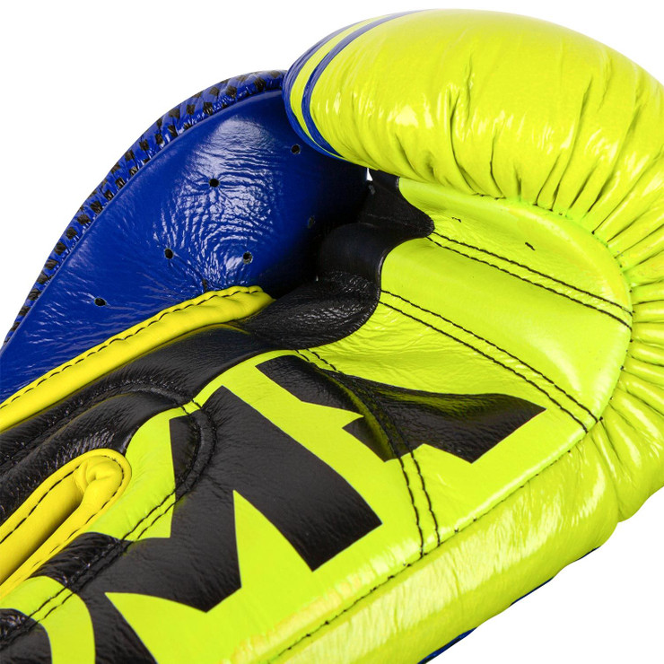 Venum Loma Edition Shield Pro Boxing Gloves  Blue/Yellow