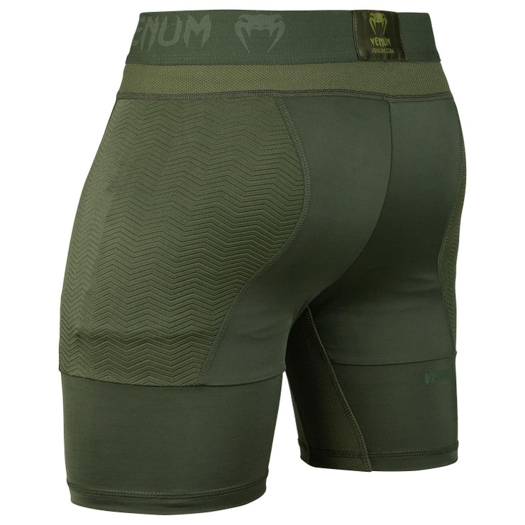 Venum G-Fit Compression Shorts Khaki