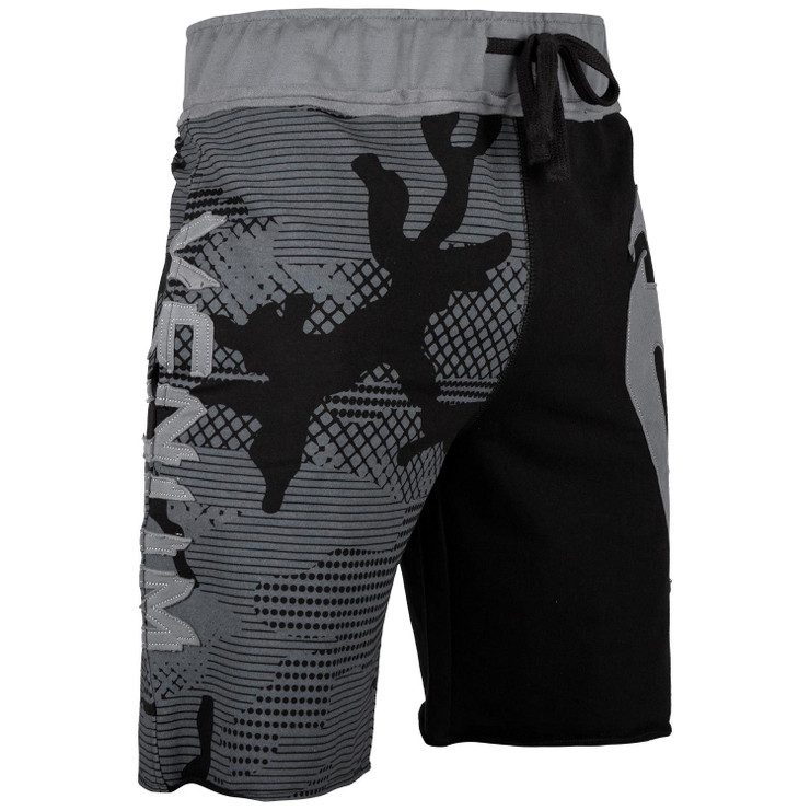 Venum Assault Cotton Shorts Black/Grey