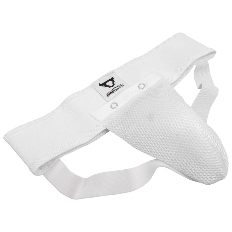 Ringhorns Charger Kids Groin Guard White