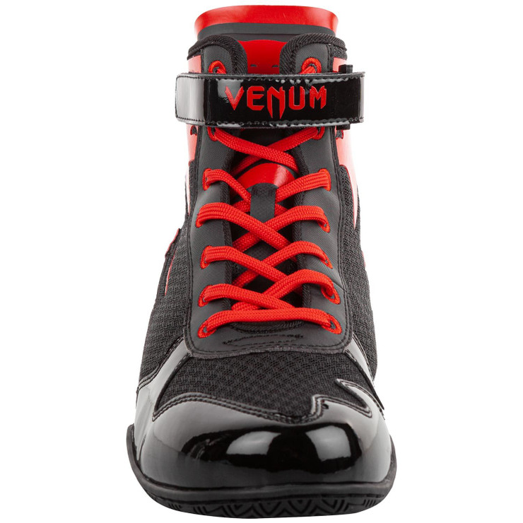 Venum Giant Low Boxing Shoes Black/Red