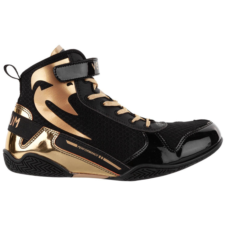 Venum Giant Low Boxing Shoes Black/Gold