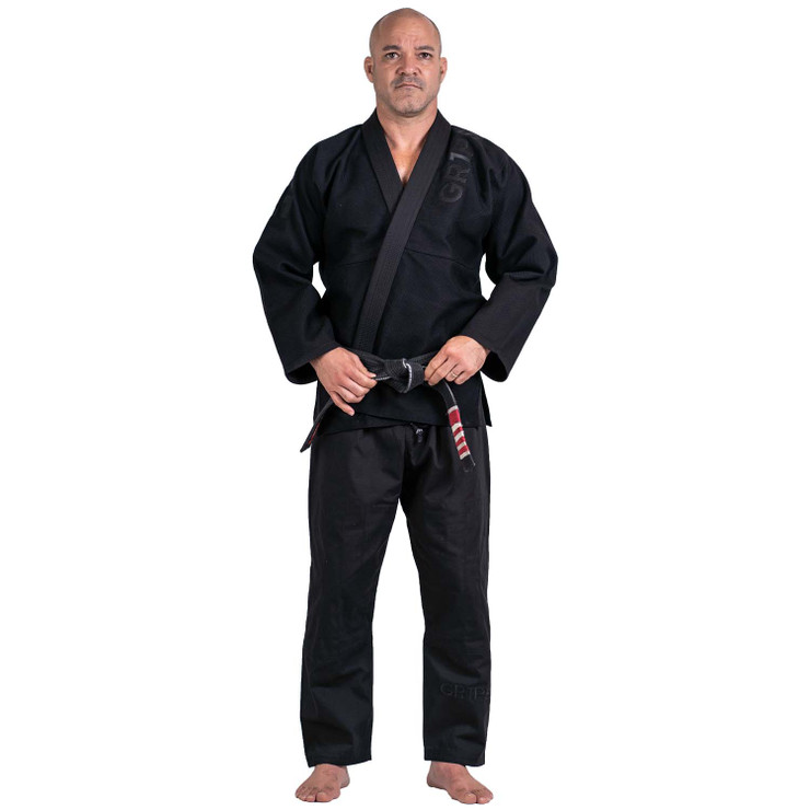 Gr1ps Primero Competition Stealth Edition BJJ Gi  Black