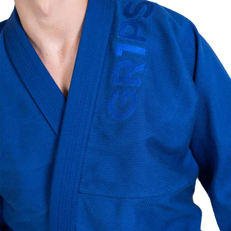 Gr1ps Primero Competition Stealth Edition BJJ Gi  Royal Blue