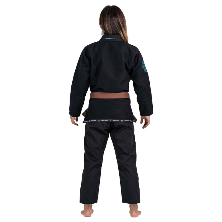 Gr1ps Primero Competition Woman Edition BJJ Gi  Black