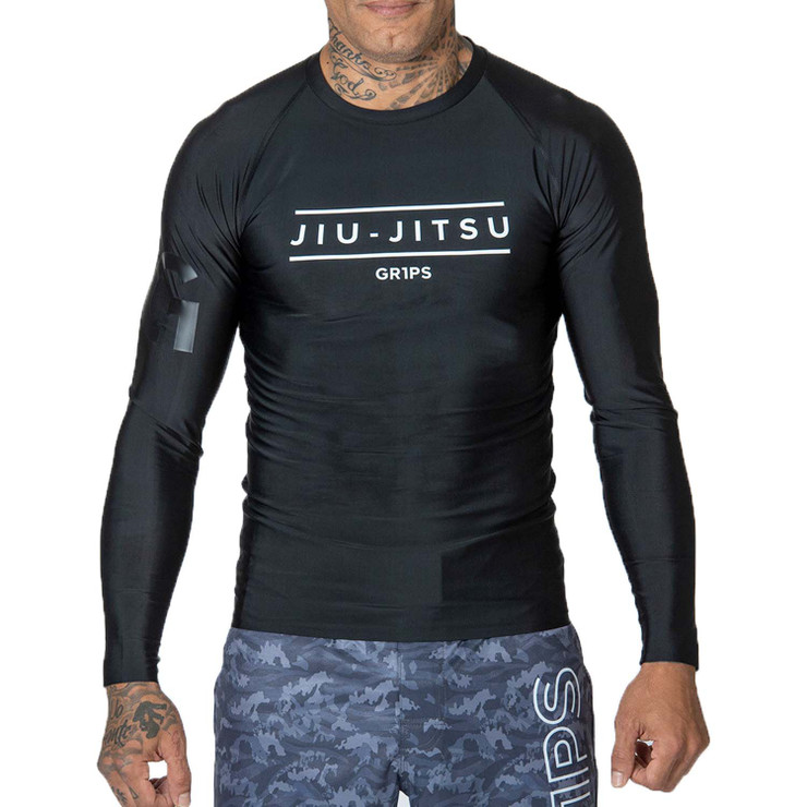 Gr1ps Armadura Pro Rash Guard Black/White