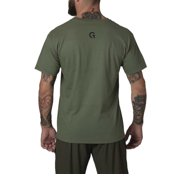 Gr1ps Essential Jiu-Jitsu T-Shirt Green/Black