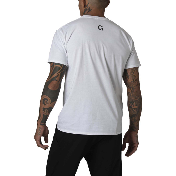 Gr1ps Essential Jiu-Jitsu T-Shirt White/Black