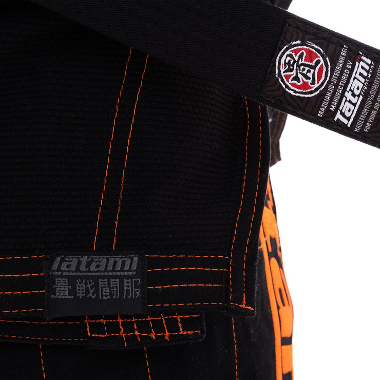 Tatami Fightwear Estilo 6.0 Mens BJJ Gi Black/Orange