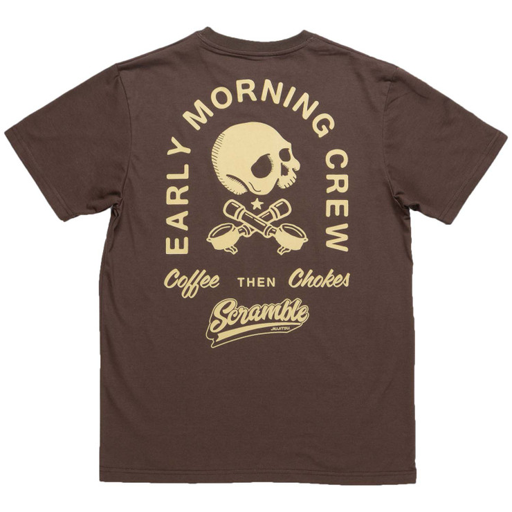 Scramble Coffee and Chokes T-Shirt