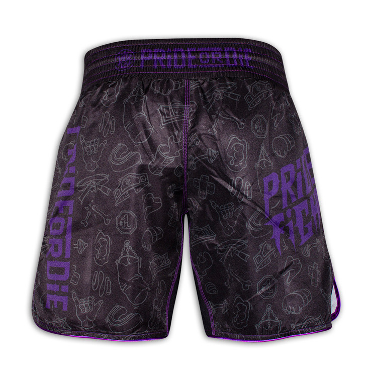 Pride Or Die Fight Life Fight Shorts