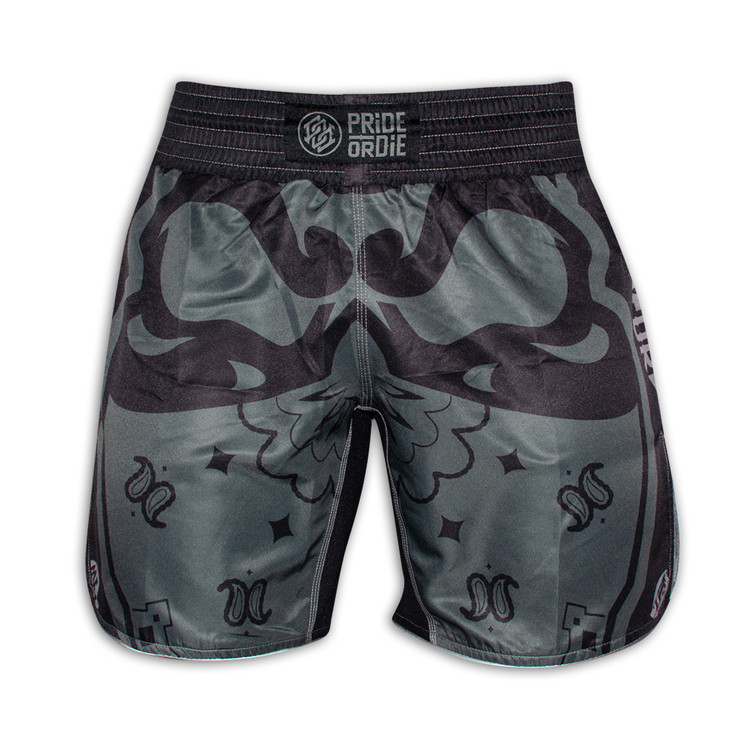 PRiDEorDiE Ruthless Fight Shorts