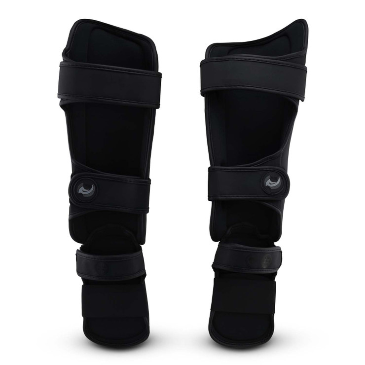 Fumetsu Ghost Thai Shin/Instep Guards Black/Black