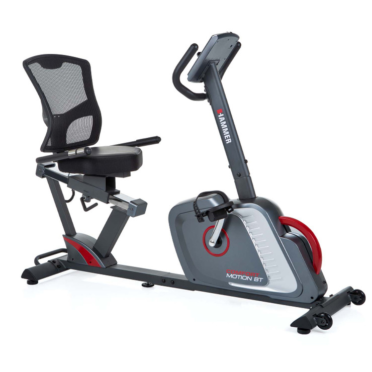 Hammer Fitness Comfort Motion BT Ergometer Exercise Bike