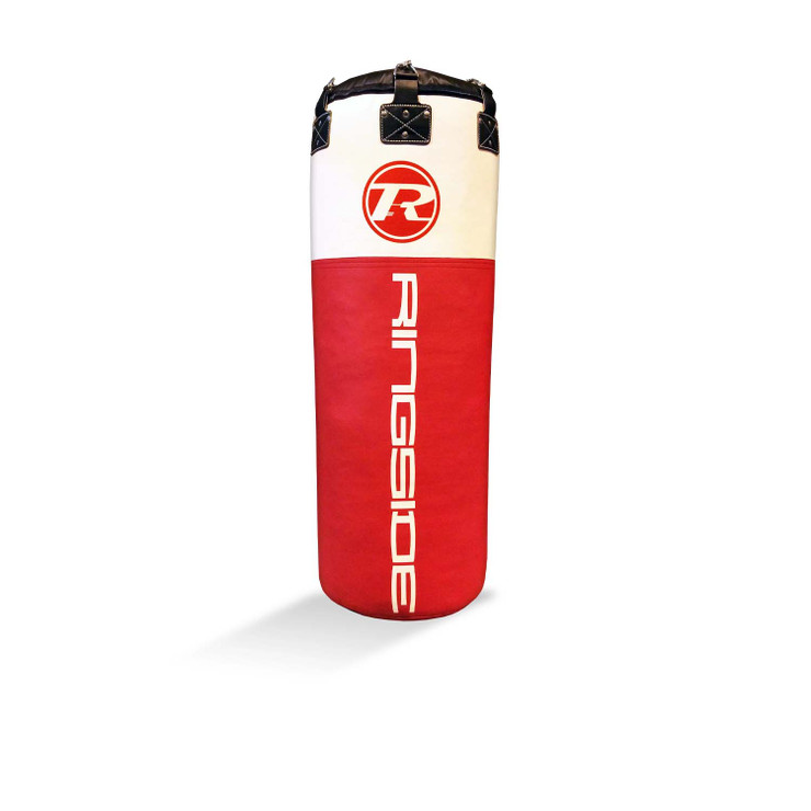 Ringside Synthetic Leather Jumbo Punch Bag Red/White