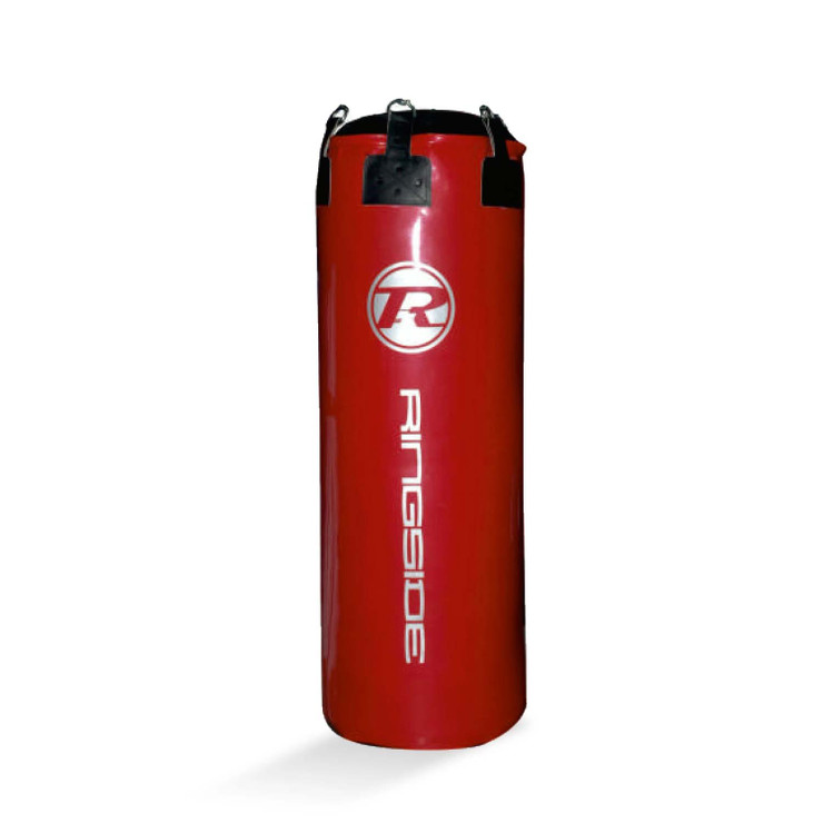 Ringside G2 Synthetic Leather Jumbo Punch Bag Metallic Red/Silver