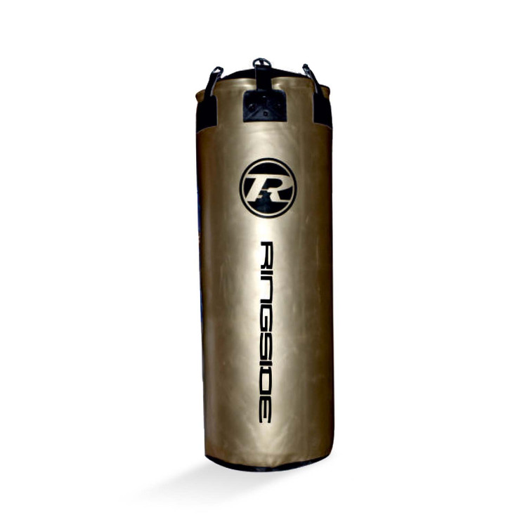 Ringside G2 Synthetic Leather Jumbo Punch Bag Metallic Gold