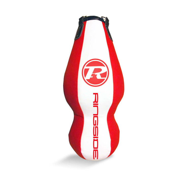 Ringside Synthetic Leather Double End Punch Bag Red/White