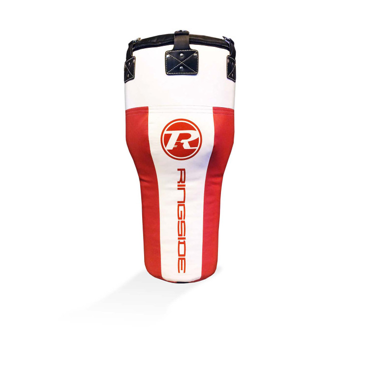 Ringside Synthetic Leather Angle Punch Bag Red/White