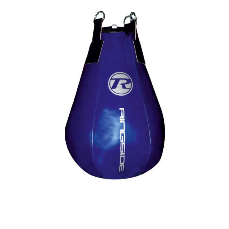 Ringside G2 Synthetic Leather Maize Punch Bag Metallic Blue/Silver