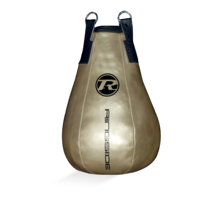 Ringside G2 Synthetic Leather Maize Punch Bag Metallic Gold
