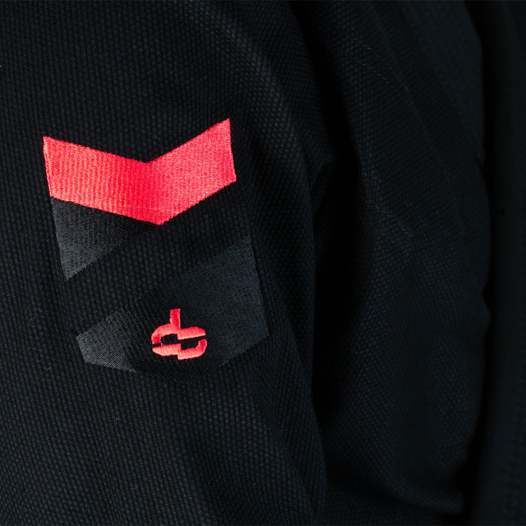 Hyperfly Hyperlyte 2.0 BJJ Gi Black/Red