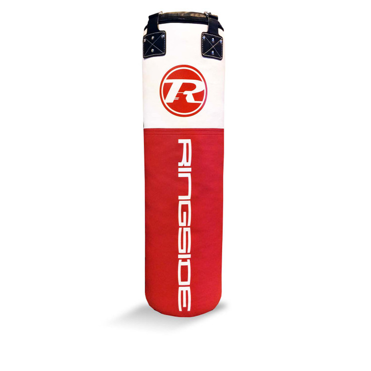 Ringside Synthetic Leather 4ft Punch Bag Red/White