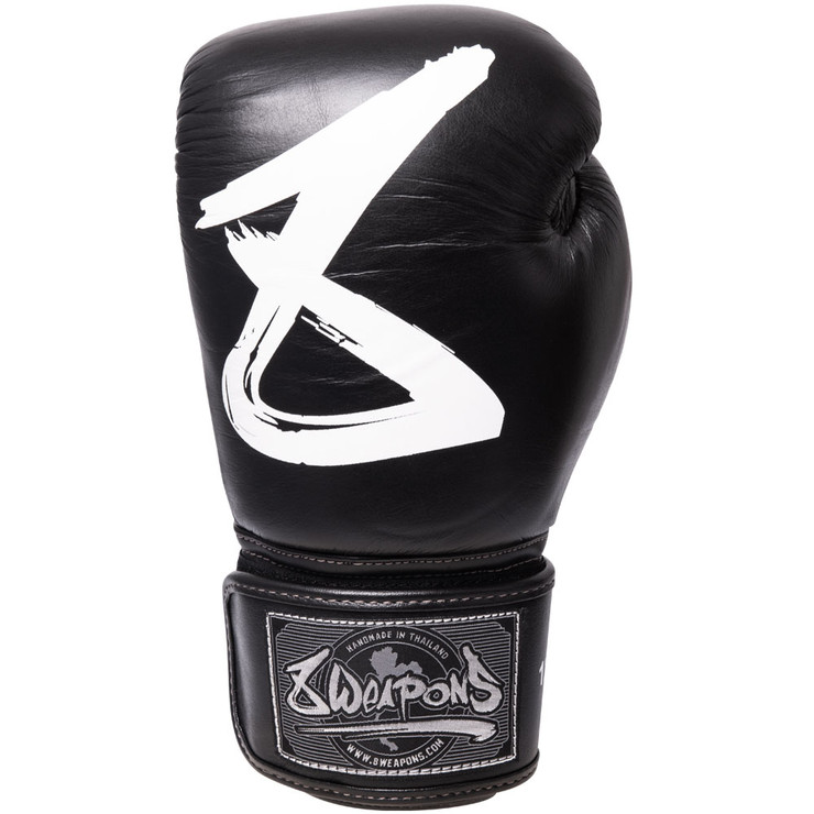 8 Weapons Big 8 Premium Boxing Gloves Black