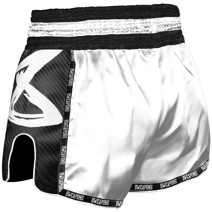 8 Weapons Snow Night Carbon Muay Thai Shorts